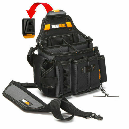 ToughBuilt Tool Bag Storage Master Pouch Electrician Shoulder Strap TB-CT-104