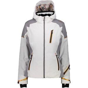 Hood Jacket Zip Weiß Skijacke Woman Winddicht Cmp Snowboardjacke 4SqZ1vwF
