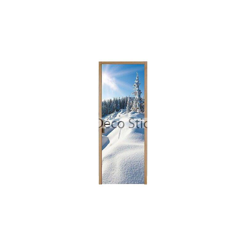 Adhesivo para Puerta Plana Montaña 83x204cm Ref 170 8e95e498aefc