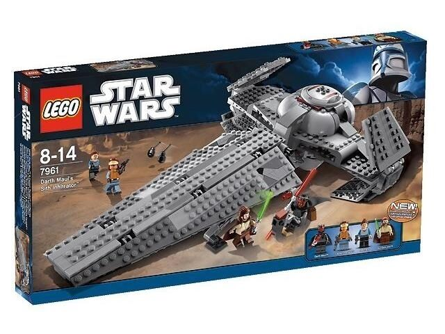 NEW NEW NEW  Lego - Star Wars 7961 Darth Maul's Sith Infiltrator 7380b3