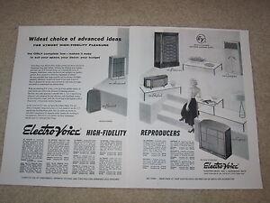 Electro-Voice-1954-Ad-Patrician-Georgian-Regency-Aristocrat-Skylark-Articl