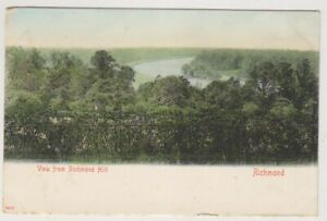 Londres-Tarjeta-Postal-View-From-Richmond-Colina-Richmond-A1627