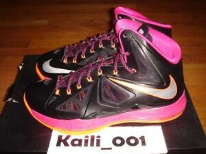 more photos 92e33 bd7d7 Image is loading Nike-Air-Zoom-Lebron-X-10-Floridian-541100-