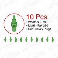 Delphi Weather Pack Metri-pack 280 Series Cavity Plugs 10 Pc Pack Delphi