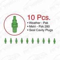Delphi Weather Pack Metri-pack 280 Series Cavity Plugs 10 Pc Pack Delphi