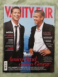 69# VANITY FAIR FASHION MAGAZINE N 31 2007 BRAD PITT GEORGE CLOONEY MIGUEL BOSE