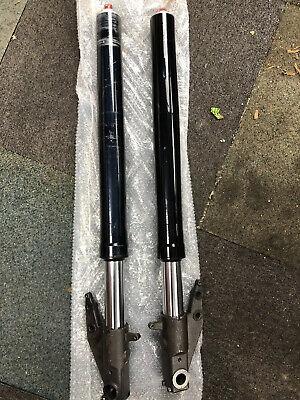 Stanchion Single Right Hand Side Chrome Fork Tube Leg Aprilia RS250 95-97