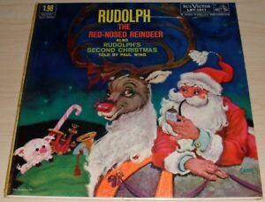 Rudolph the red nosed reindeer album 1958 rca victor records lby image is loading rudolph the red nosed reindeer album 1958 rca publicscrutiny Image collections