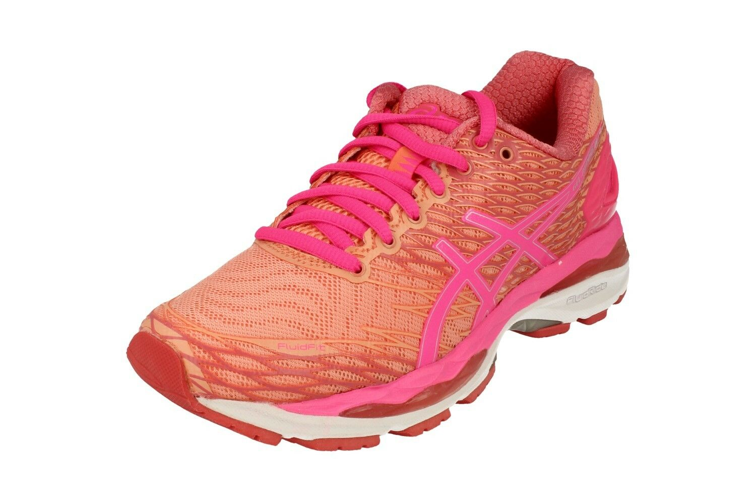 Asics Gel-Nimbus 18 Womens Running Trainers T650N Sneakers shoes 7620