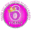 70x Personalised Princess 37mm party bag sticker favour cone label kid Age 1-10+