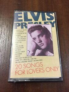 ELVIS-PRESLEY-20-SONGS-FOR-LOVERS-ONLY-MC-K7-CASSETTE-TAPE-CINTA-ED-PORTUGUESA