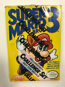 Super-Mario-Bros-3-Challenge-Set-Not-For-Resale-Variant-Nintendo-NES-Complete
