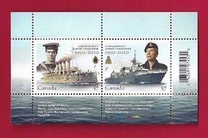 Canada-2384-Souvenir-Sheet-Canadian-Navy-Brand-New-2010-Pristine-Gum-Issue