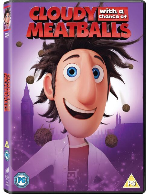 Cloudy With A Chance Of Meatballs Dvd Uk Region 2 Superb For Sale Online Ebay