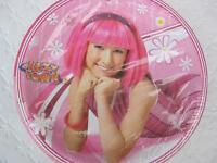 Lazy Town Party Plates Favor Birthday Stephanie Lunch X12 Supplies Treats Girl