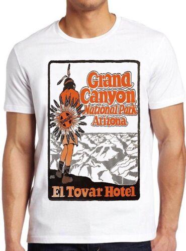 Grand Canyon T shirt National Park Arizona El towar Hotel Vintage Cadeau Tee 185