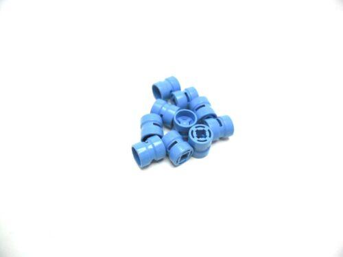 LEGO 10x Felgen//Räder 8x9mm in Hellblau 30027b