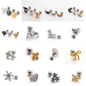 Small-Helix-Ear-Crystal-Cartilage-Body-Piercing-Jewellery-Tragus-Bars-Earring