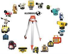 Aluminum Tripod Survey Contractor Laser Auto Level Allenbuild Flat Head