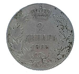 Acheter Pas Cher Ancienne Pièce De Monnaie - 2 Dinara-aleksandar I - 1925-km # 6-fine (vf-12)-afficher Le Titre D'origine