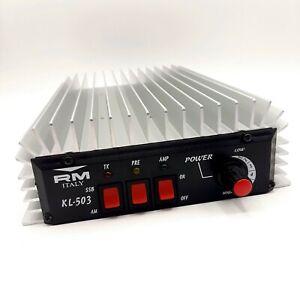RM-ITALY-KL-503-CB-Amplificateur-lineaire-27-MHz-10-M-Jusqu-039-a-450-W-Bande-Laterale-Unique-USB