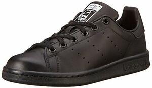 adidas-Performance-Stan-Smith-J-Tennis-Shoe-Black-White-Size-6-5-M-US-Big-Kid