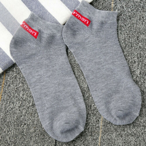 1Pair Men/'s Casual Comfortable Stripe Cotton Sock Slippers Short Ankle Socks US