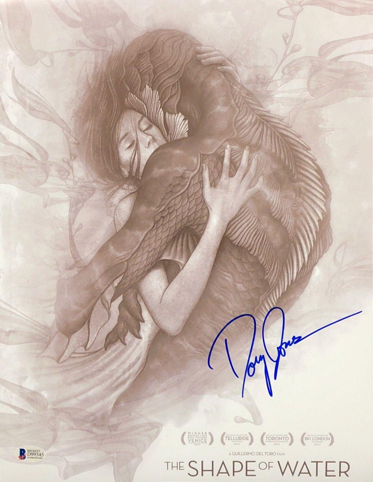 Doug Jones Signed 'The Shape Of Water' 11x14 Photo BAS Beckett D99345