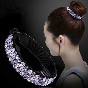 Women-Hair-Clip-Crystal-Claw-Ponytail-Bun-Holder-Hair-Comb-Hairpin-Fashion-Decor