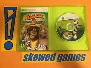 Madagascar Escape 2 Africa Cib Xbox 360 Microsoft Ebay