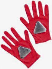 Power Rangers Dino Thunder red Ranger Costume Gloves New Childs