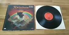 Rainbow Rising UK Gatefold LP With Gold Stars Polydor Oyster Classic Hard Rock