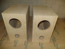 Speaker box for Fostex FE126E pair,  Bass Reflex Type