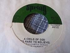 Millie Jackson 45 A Child of God/You're the Joy of My Spring 119 70s Soul Funk