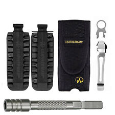 Leatherman Nylon Sheath 934810 For Charge,Surge,Wave + 42 Pc Bit Kit + Extender