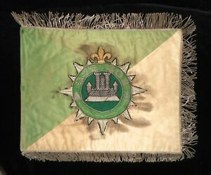 FRENCH-BULLION-STANDARD-OF-THE-602nd-G-C-R-INDOCHINE-PERIOD-1940-039-50-039-s