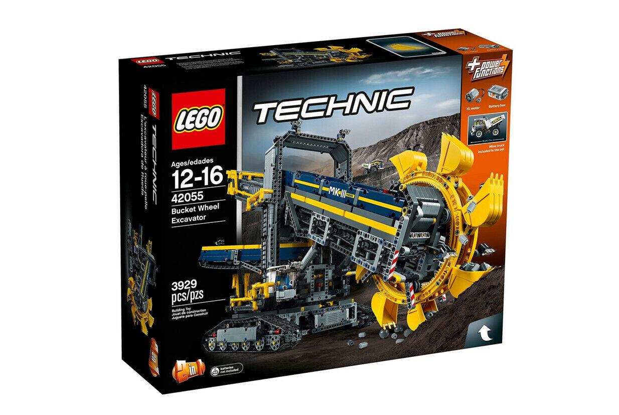 Lego Technik Technic Schaufelradbagger Bucket Wheel Excavator 42055 NEU NEW