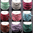 Wholesale 1/5M 6mm Snake Skin Leather Cord Jewelry Making Cord Thread DIY New