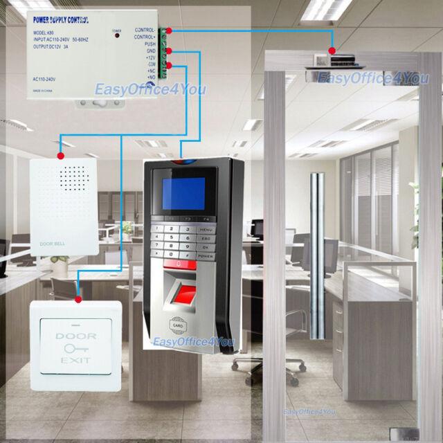 Office/Home/Warehouse Door Access control System Biometric Fingerprint+Bolt Lock