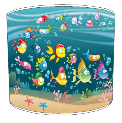 Ideal To match Under The Sea Bedding Sets /& Duvet Covers. Children`s Lampshades