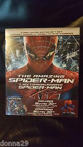 The-Amazing-Spider-Man-3D-2D-BLU-RAY-4-DVD-COFANETTO-COLLEZIONISTA-EDIZIONE