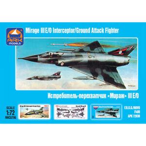 Escala-1-72-Dassault-Mirage-III-franceses-Jet-Fighter-Maquetas