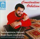Shostakovich, Mozart, Bach: Piano Concertos (CD, Feb-2013, Delos)