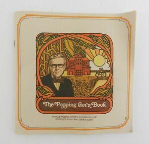 Vintage-1975-Orville-Redenbacher-039-s-Popcorn-Popping-Corn-Book-Booklet-Recipes