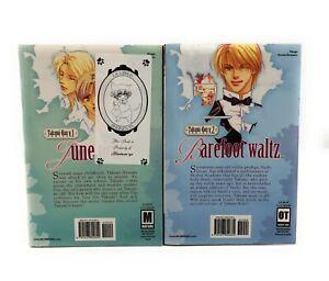 Takumi-kun-Vols-1-amp-2-June-Pride-Barefoot-Waltz-Yaoi-English-Manga
