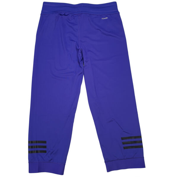 Adidas Damen Sport Caprihosen 3/4 Tights, Multifunktionale Leggings, Blau, Neu