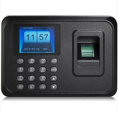 USB TCP/IP Password Fingerprint Time Recorder Clock Attendance Employee Salary