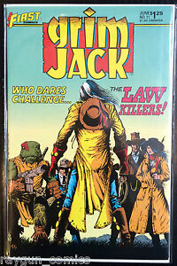Grim-Jack-Vol-1-11-VF-1st-Print-Free-UK-P-amp-P-First-Comics
