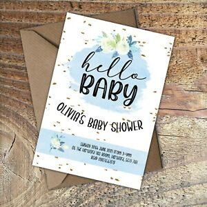 BABY-SHOWER-INVITATIONS-Hello-Baby-Boy-Personalised-PK-10