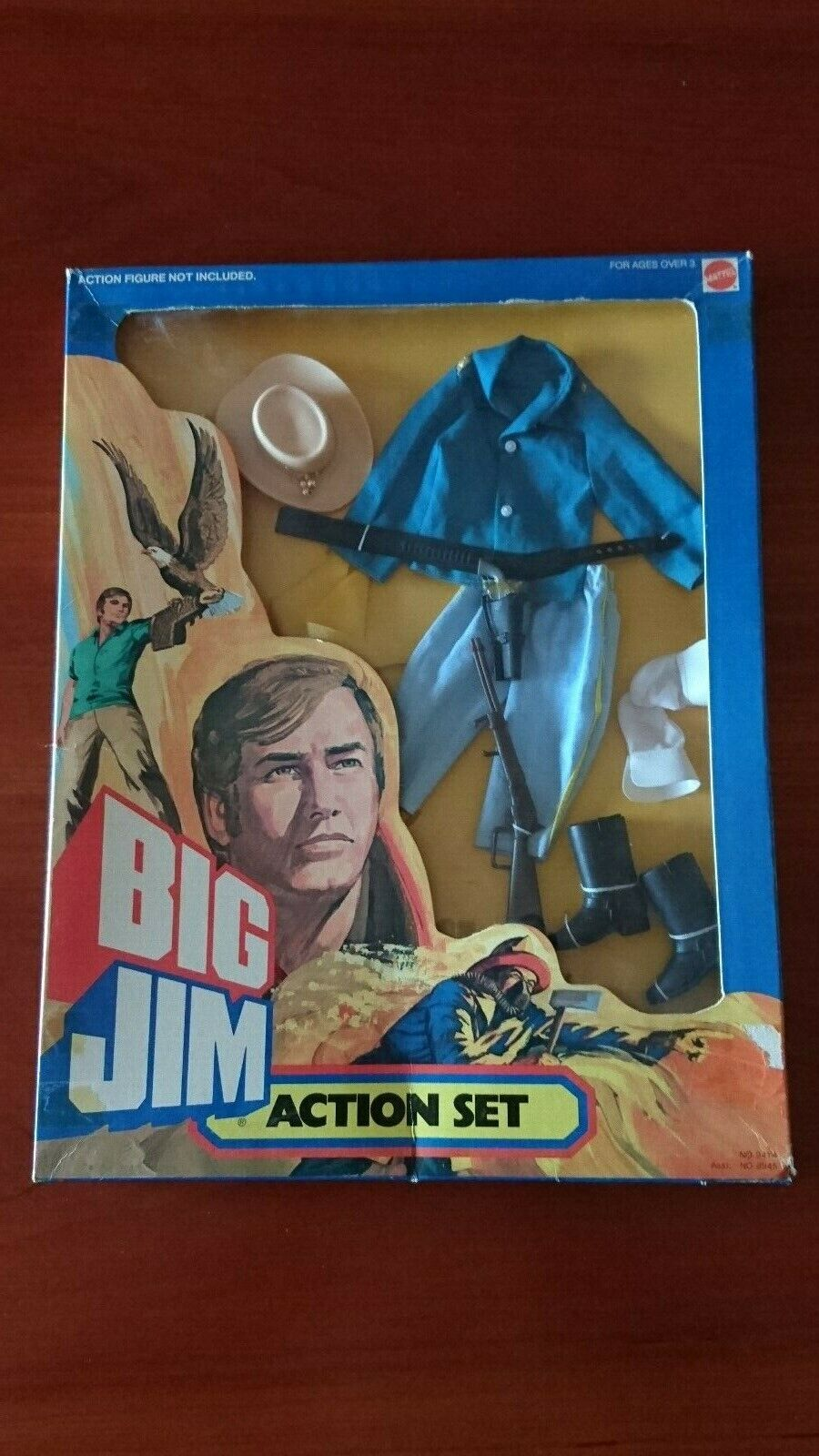 BIG JIM MATTEL ACTION SET OUTFIT   9414   CAVALLEGGERO   CON SCATOLA ORIGINALE